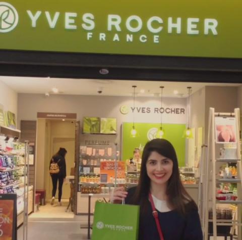 Una de las colaboraciones de La Burbuja de Thor con la multinacional de productos cosméticos y de belleza Yves Rocher.