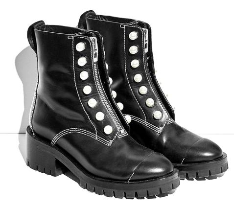 Pearl Combat boots